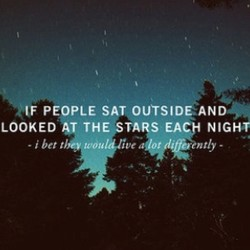 PEOPLE SAT OUTSIDE-AND 