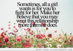 Sometimes, all a WI 