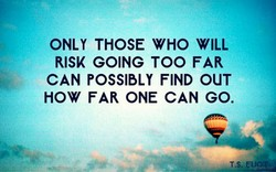 ONLY THOSE WHO WILL 