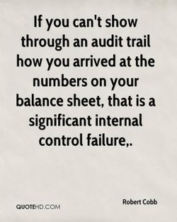 If you can't show 
