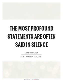 THE MOST PROFOUND 
