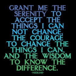 GRANT ME THE 