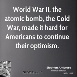 World War II, the 