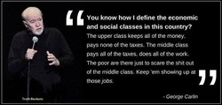 You know how I define the economic 