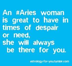 An #Aries woman 