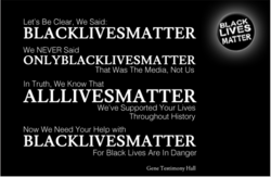 Be Clear, Said: 