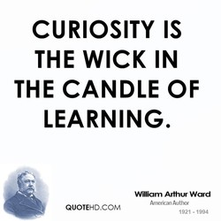 CURIOSITY IS 