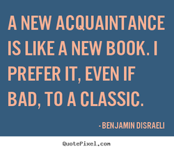 A NEW ACQUAINTANCE 