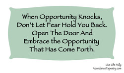 When Opportuni Knocks, 