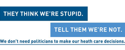 THEY THINK WE'RE STUPID. 