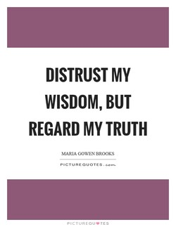 DISTRUST MY 