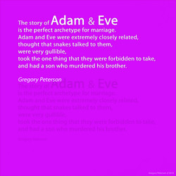Adam & Eve 