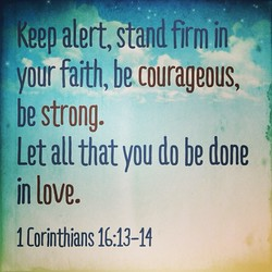 Keepalert, stand firm jn 