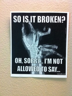SO IS-IT BROKEN? 