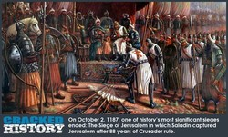 On October 2, 1187, one of history's most significant sieges 