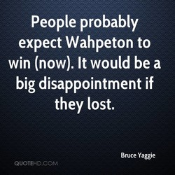 People probably 