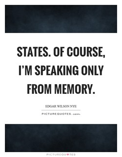 STATES. OF COURSE, 