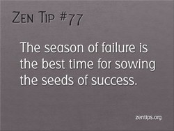 ZEN Tip 