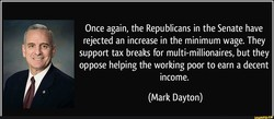Once again, the Republicans in the Senate have 