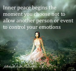 Inner peace. begins Ofe 