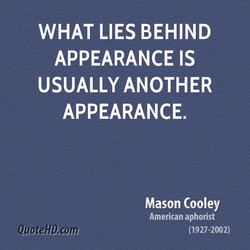 WHAT LIES BEHIND 