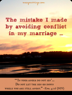 The mistake I made 
