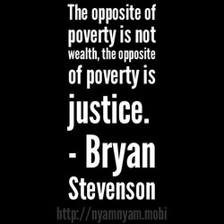 The opposite of 
