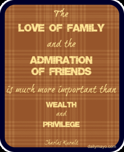 LOVE OF FAMILY 