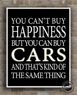 YOU CAN'T BUY 