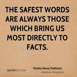 THE SAFEST WORDS 