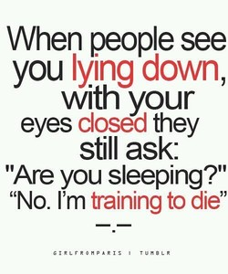 When people see 