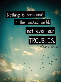 No±hing is permanen± 
