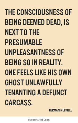 THE CONSCIOUSNESS OF 