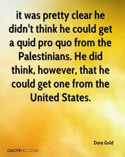 it was pretty clear he 