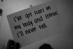 I've qot Scars on 