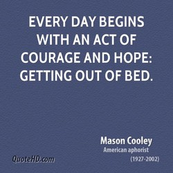 EVERY DAY BEGINS 