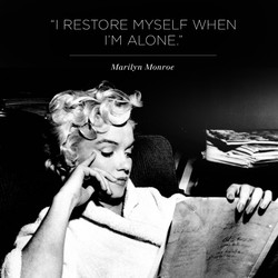 I RESTORE MYSELF WHEN 