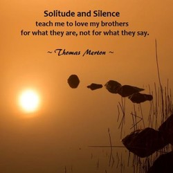 Solitude and Silence 