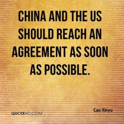 CHINA AND THE US 