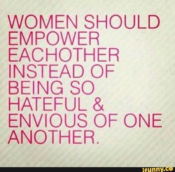 WOMEN SHOULD 