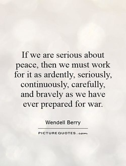 If we are serious about 
