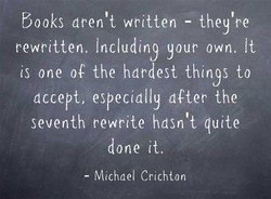 books aren't written - 