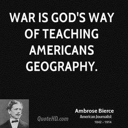 WAR IS GOD'S WAY 