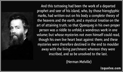 And this tattooing had been the work of a departed 