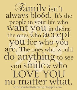 •amily isn't 