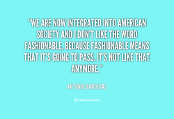 NOW INTEGRATED INTO AMERICAN • 
