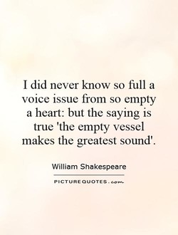 I did never know so full a 