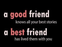 good friend 