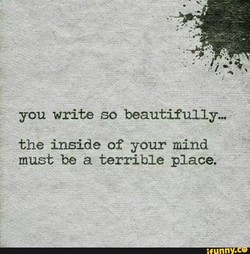 you write so beautifully... 