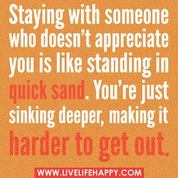 Staying with someone 